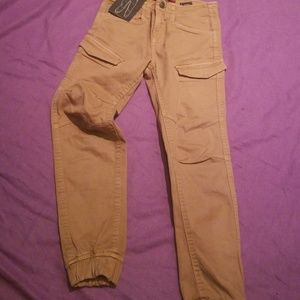 7 for all mankind khaki joggers